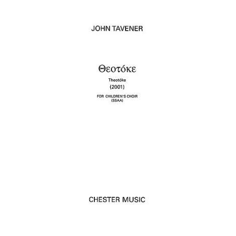John Tavener: Theotoke