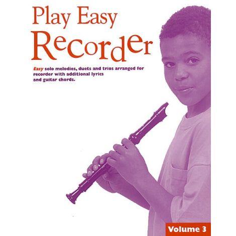 Play Easy Recorder Volume 3