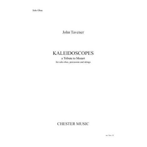 John Tavener: Kaleidoscopes (Oboe Part)