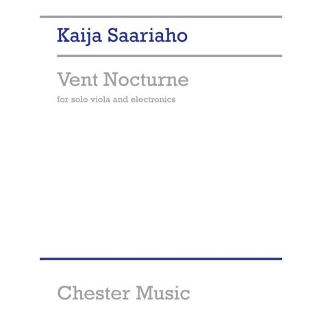 Kaija Saariaho: Vent Nocturne