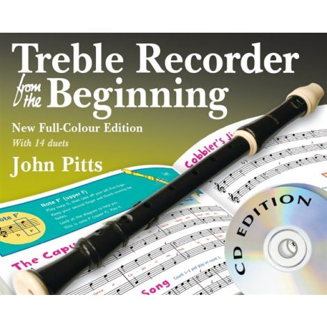 John Pitts: Treble Recorder From The Beginning - Book/CDs (Revised Full-Colour Edition)