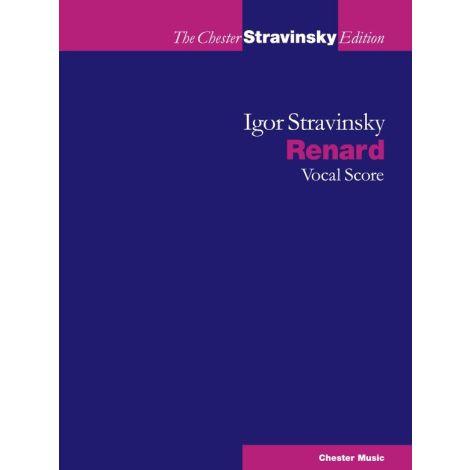 Igor Stravinsky - Renard (Vocal Score)