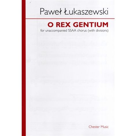 Pawe闂 闂佸ジ鈧稖寮磌aszewski: O Rex Gentium (SSAA)