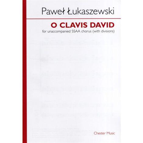 Pawe闂 闂佸ジ鈧稖寮磌aszewski: O Clavis David (SSAA)