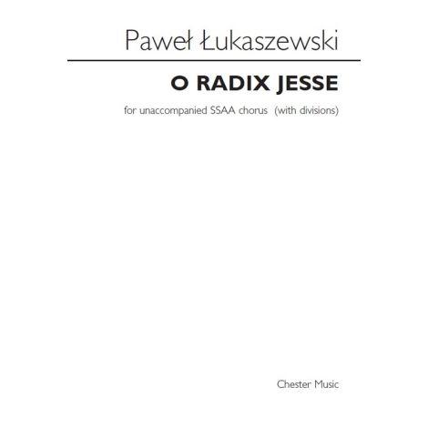 Pawe闂 闂佸ジ鈧稖寮磌aszewski: O Radix Jesse (SSAA)