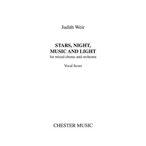Judith Weir: Stars, Night, Music And Light (A4 Study Score)