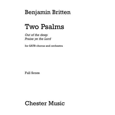 Benjamin Britten: Two Psalms (Full Score)