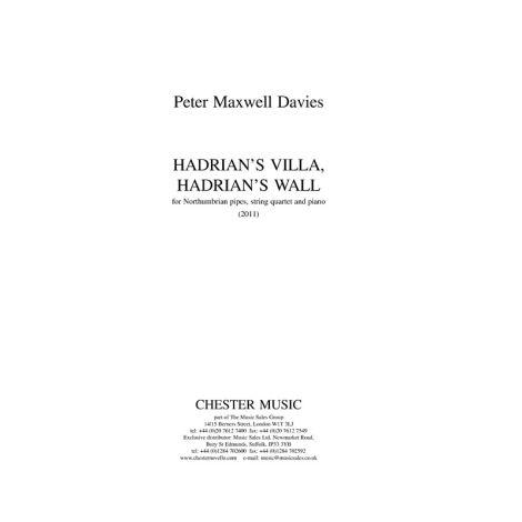 Peter Maxwell Davies: Hadrian's VIlla, Hadrian's Wall