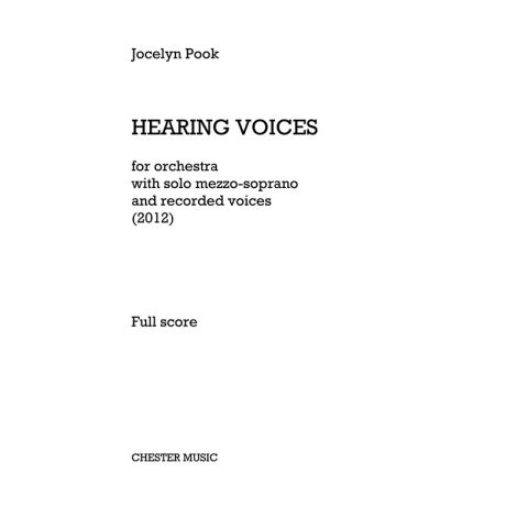 Jocelyn Pook: Hearing Voices (Full Score)