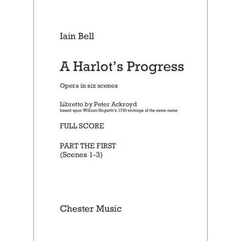 Iain Bell: A Harlot闂備胶鍋ㄩ崕鏌ユ偘 Progress (Full Score)