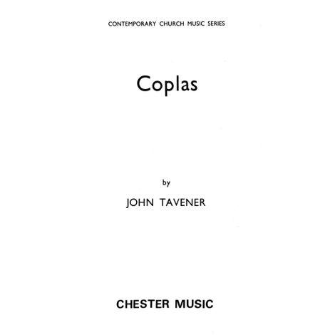 John Tavener: Coplas (Vocal Score/CD)