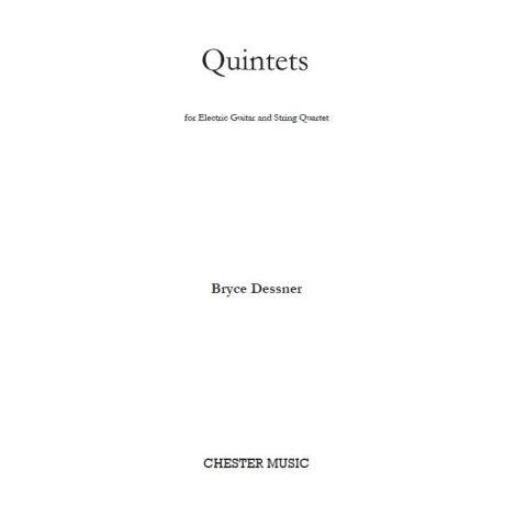 Bryce Dessner: Quintets