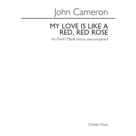 John Cameron: My Love Is Like A Red, Red Rose