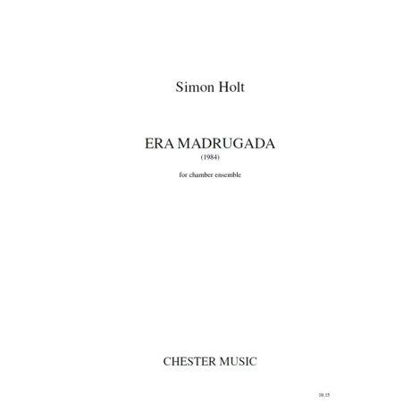 Simon Holt: Era Madrugada (Study Score)