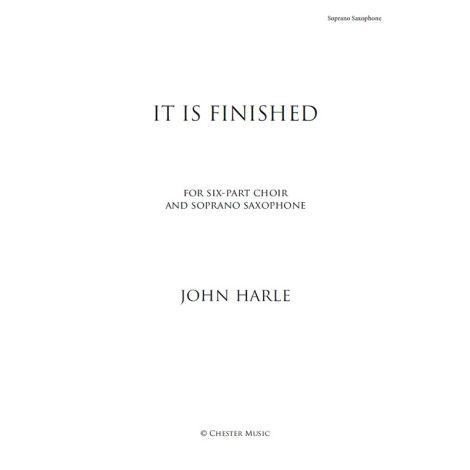 John Harle: It Is Finished (Saxophone Part)