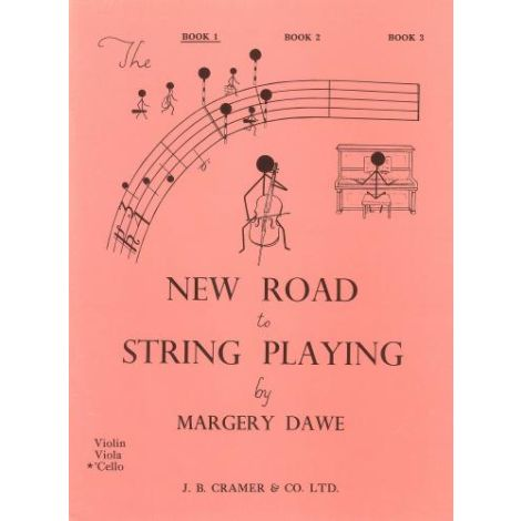 New Road To String Playing Cello Bk1
