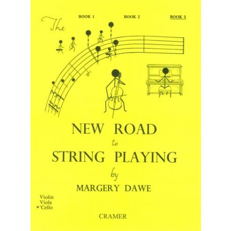 New Road To String Playing Cello Bk3