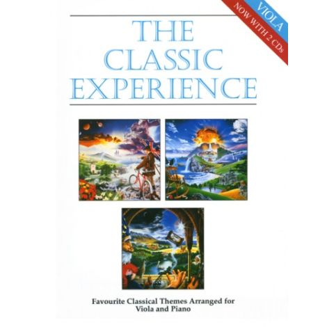 Classic Experience for Viola & Piano (with 2 CDs)