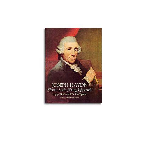 F.J. Haydn: Eleven Late String Quartets