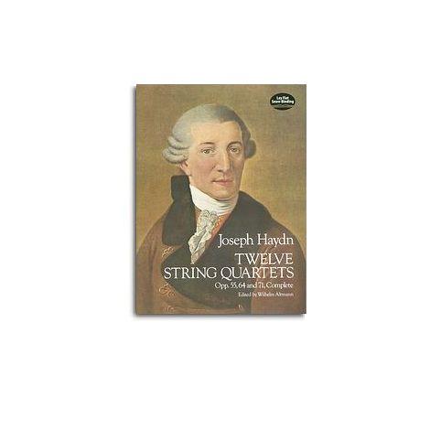 F.J. Haydn: Twelve String Quartets