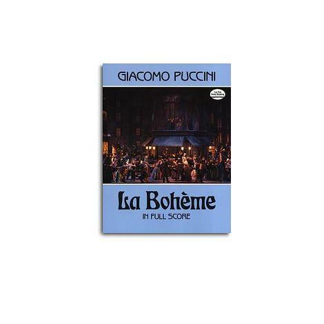 Giacomo Puccini: La Boheme (Dover Full Score)