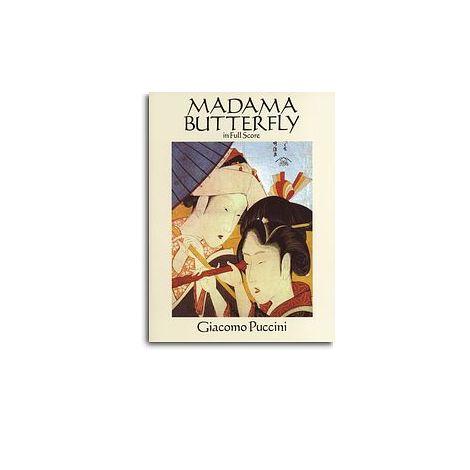 Giacomo Puccini: Madama Butterfly (Dover Full Score)