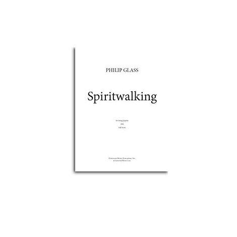 Philip Glass: Spiritwalking (Score/Parts)