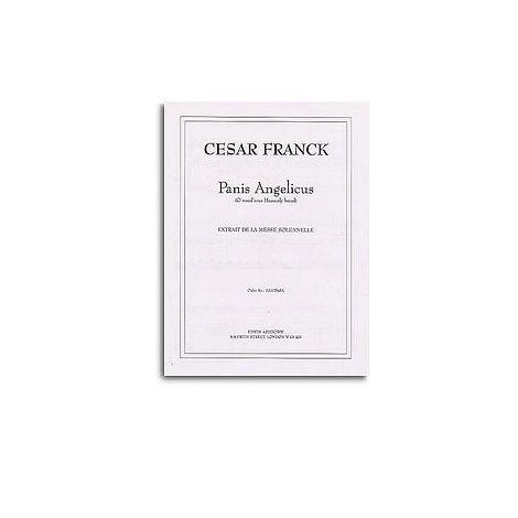 Cesar Franck: Panis Angelicus (Medium Voice/Piano)