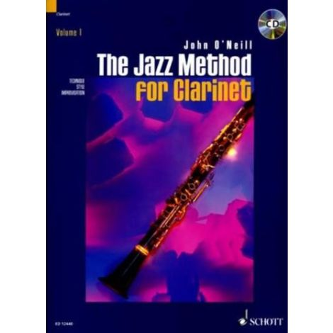 The Jazz Method for Clarinet (Book & CD)