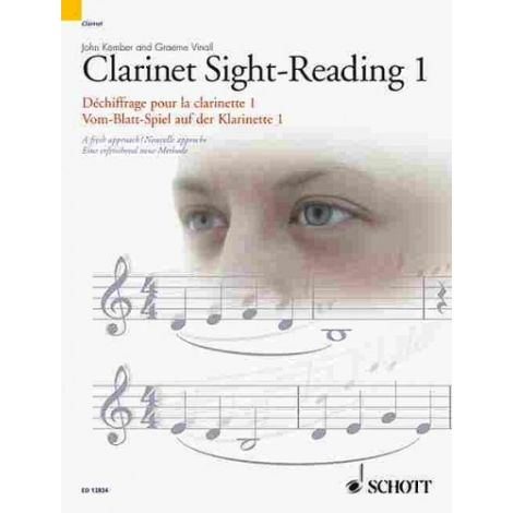 Clarinet Sight-Reading 1 Vol. 1 A fresh new approach