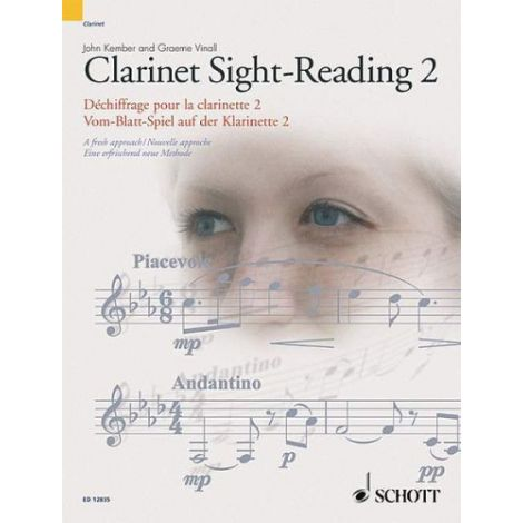 Clarinet Sight-Reading Vol. 2 A fresh new approach