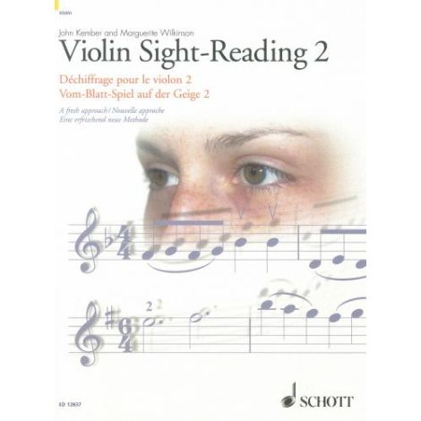 Violin Sight-Reading, Volume 2 - A fresh approach