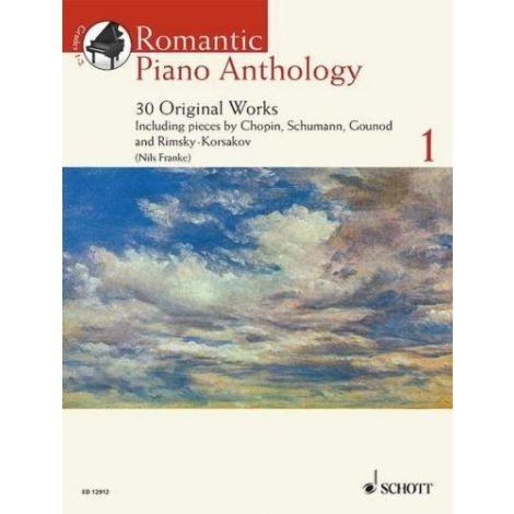 Romantic Piano Anthology - Volume 1 (30 Original W