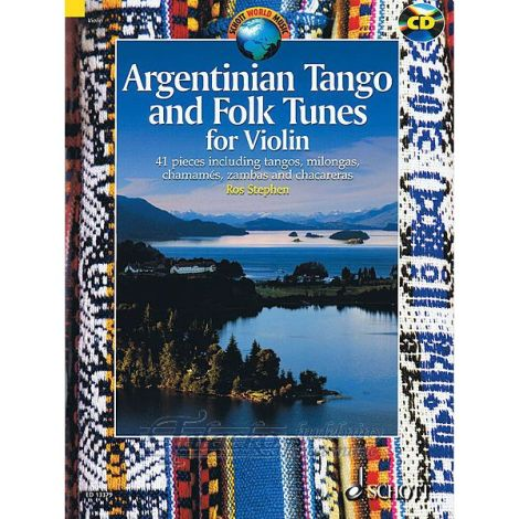 Argentinian Tango and Folk Tunes for Violin (+ CD)