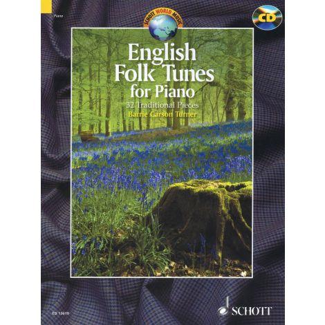 English Folk Tunes for Piano (+ CD)