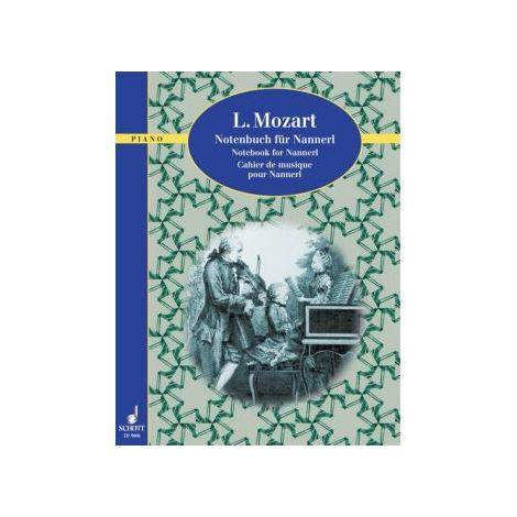 Mozart Notebook for Nannerl - piano solo