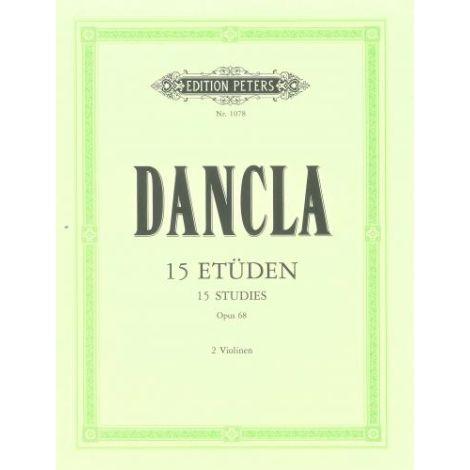 Dancla: 15 Studies Op.68 (Edition Peters)