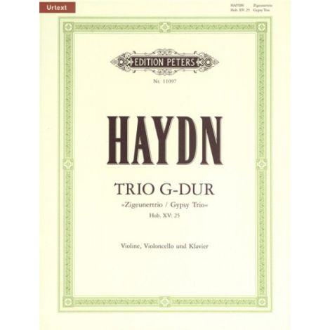 "Haydn: Piano Trio in G major, Hob.XV:25 ""Zigeunert / Gypsy Trio"" (Edition Peters)"