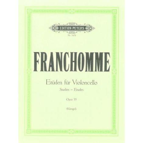 Franchomme: 12 Studies Op.35 (Edition Peters)