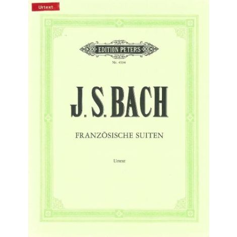 Bach: French Suites BWV 812-817 (Edition Peters)
