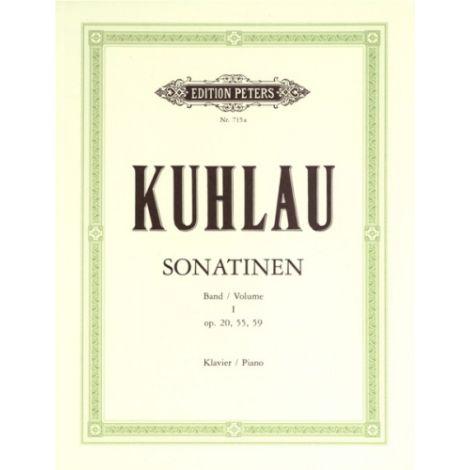 Kuhlau: Piano Sonatinas, Volume 1 (Edition Peters)