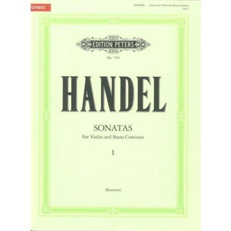 Handel: Violin Sonatas Volume 1 闂 Urtext (Edition Peters)
