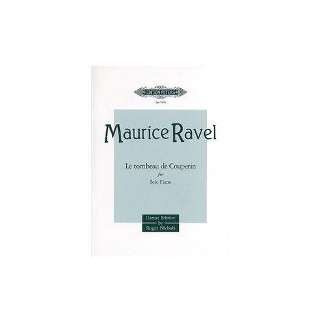 Maurice Ravel: Le Tombeau de Couperin - piano solo