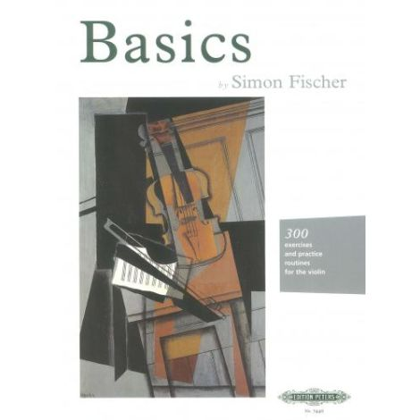 Basics, by Simon Fischer (Violin Tutor) (Edition Peters)