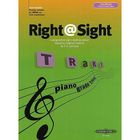 Right@Sight - Piano Grade 2, Johnson Ed: Evans