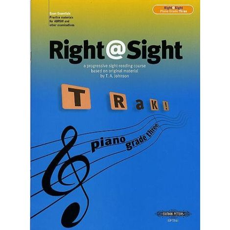 Right@Sight - Piano Grade 3, Johnson Ed: Evans