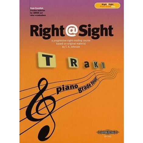 Right@Sight - Piano Grade 4, Johnson Ed: Evans