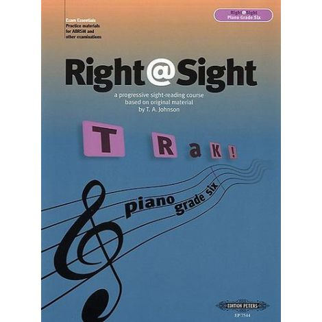 Right@Sight - Piano Grade 6, Johnson Ed: Evans