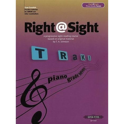 Right@Sight - Piano Grade 7, Johnson Ed: Evans
