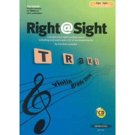 Right@Sight - Violin Grade 3 (Right at Sight)